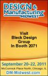 Join Bleck Design Group At 2011 Design & Manufacturing Midwest / Medical Design & ManufacturingChicago