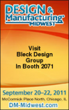 Join Bleck Design Group At 2011 Design & Manufacturing Midwest / Medical Design & Manufacturing Chicago