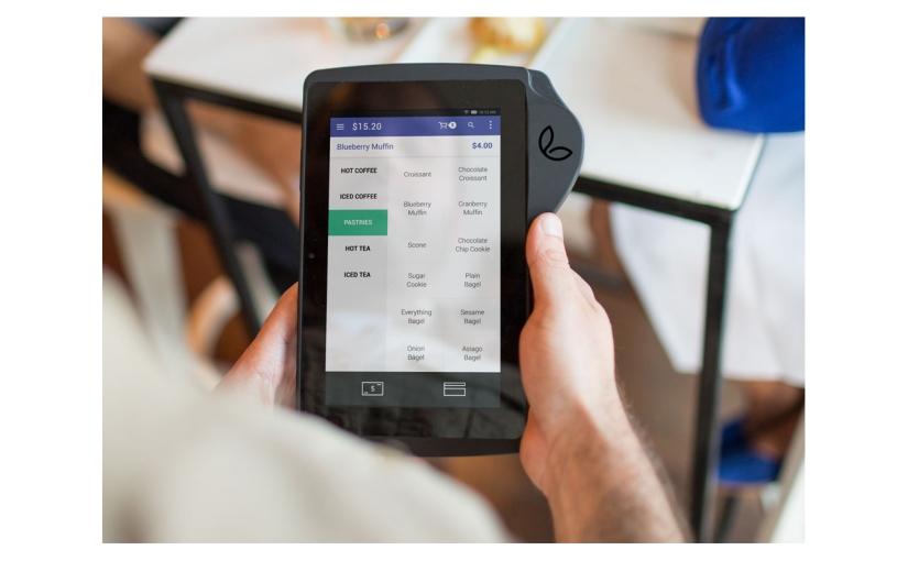 Bleck Design Group's Client Leaf Introduces Point-Of-SaleTablet