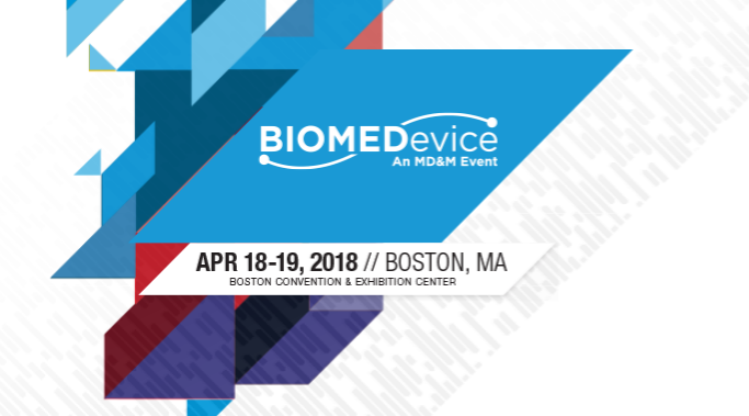 BIOMEDevice Boston2018 logo